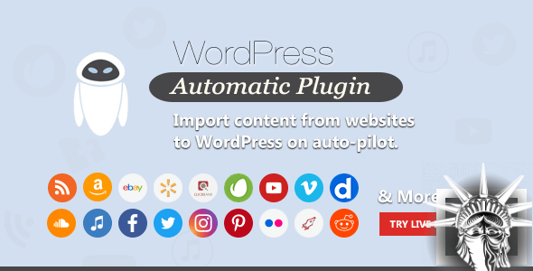 WordPress Automatic Plugin v3.52.0 NULLED