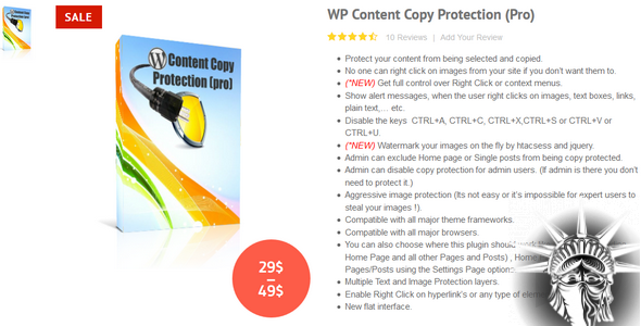 WP Content Copy Protection Pro v9.9