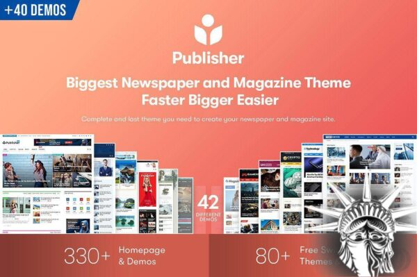 Publisher Theme v7.9.0 RC5 NULLED