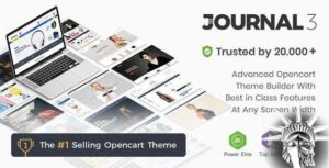 Journal OpenCart 3.1.8