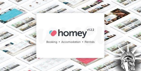 Homey Theme v1.6.5 NULLED