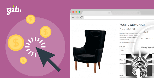 YITH WooCommerce Name Your Price Premium v1.1.19