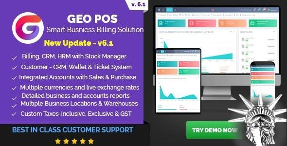 Geo POS v6.3 NULLED