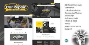 Car Repair Services v3.8 NULLED