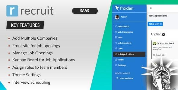 Recruit SAAS v3.3.4 NULLED