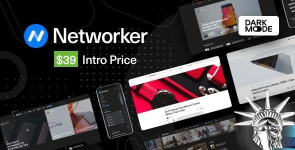 Networker Theme v1.0.7 NULLED