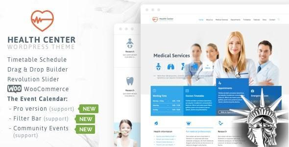 Healthcare Theme v24 NULLED