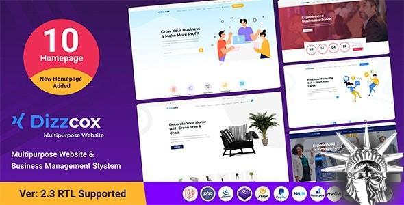Dizzcox v2.3 NULLED