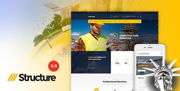 Structure Theme v7.0.0 NULLED