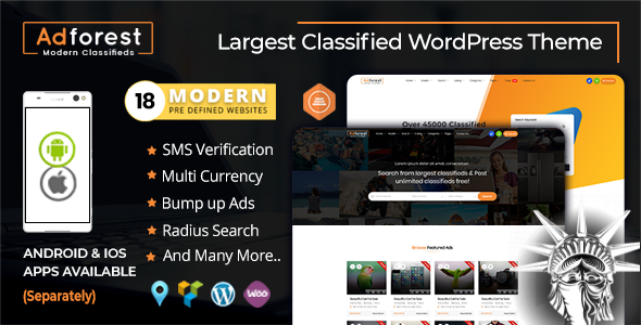 AdForest Theme v4.4.5 NULLED