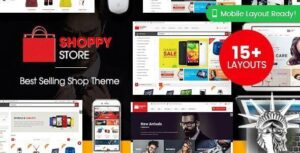 ShoppyStore Theme 3.6.6 NULLED