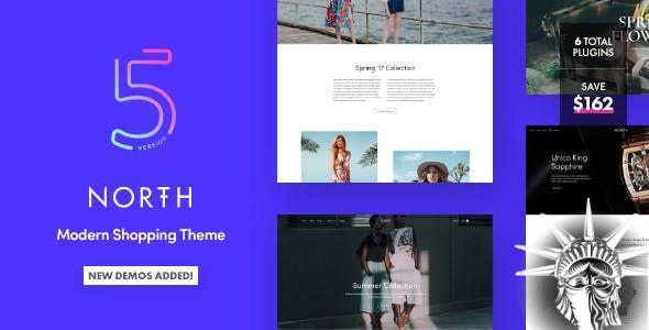 North Theme v5.7.0 NULLED