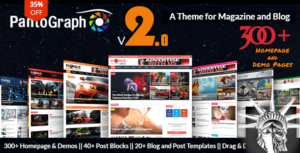 Revolution Theme v2.4.3 NULLED