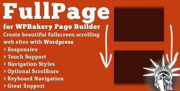 FullPage for WPBakery Page Builder v2.1.4 NULLED