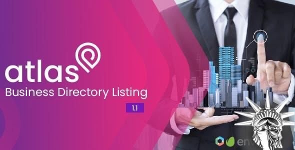 Atlas Business Directory Listing v2.6 NULLED