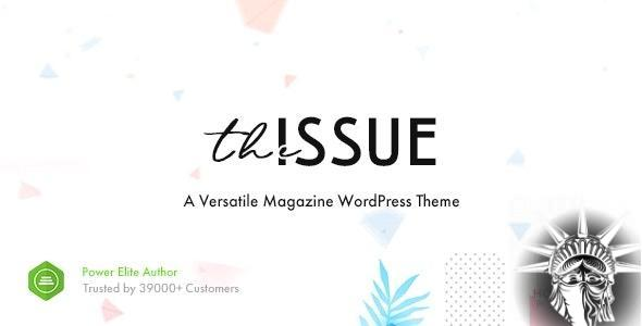 The Issue Theme v1.6.4 NULLED