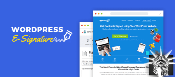 WP E-Signature v1.5.7.1 NULLED