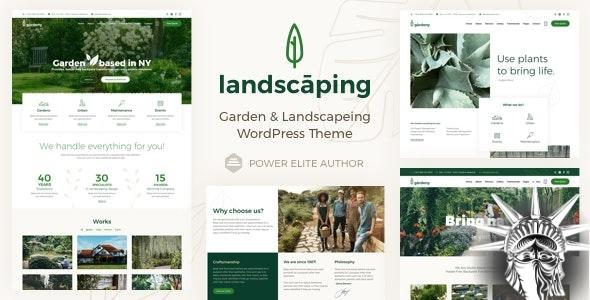 Landscaping Theme v8 NULLED