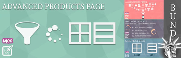 Advanced Products Page Bundle