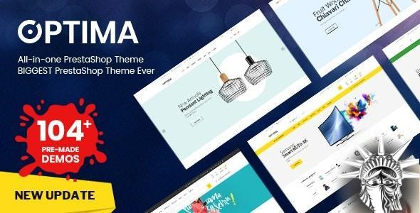 Optima Theme PrestaShop v2.0.4