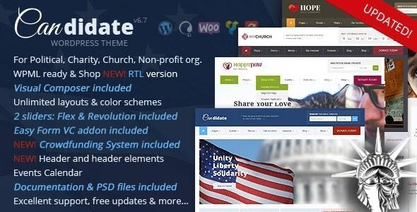 Candidate Theme v6.7 NULLED