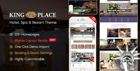 KingPlace Theme v1.2.4 NULLED
