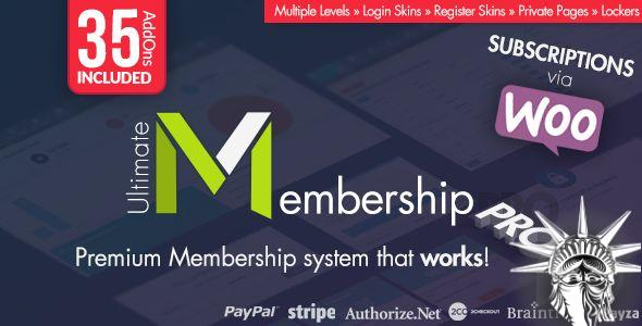 Ultimate Membership Pro v9.5.1 NULLED