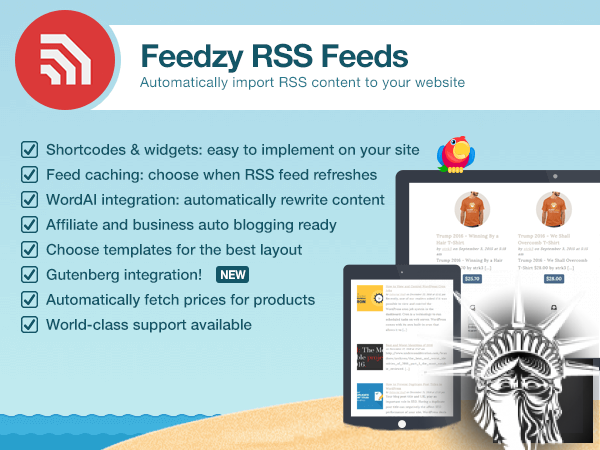 FEEDZY RSS Feeds Pro