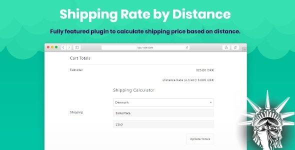 Shipping Rate by Distance for WooCommerce v1.1.2