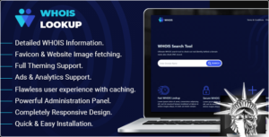 Whois Lookup v1.2 NULLED