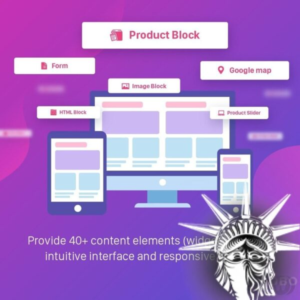 Advanced CMS pages builder