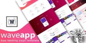 WaveApp Theme HTML