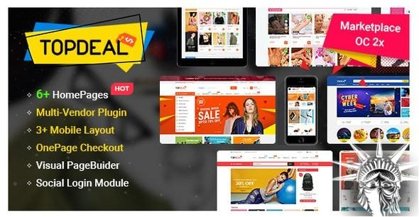 TopDeal OpenCart Theme